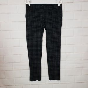 Kut From The Kloth Plaid Skinny Pants Size 8